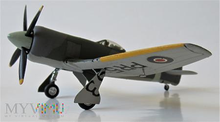 "Samolot Hawker ""Tempest"" Mk II (model 1/72)"