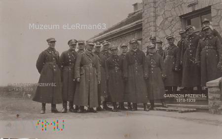 """Oficerowie 22 DPG na strażnicy KOP """"Bedrykowce"""""""