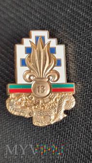 Odznaka 13 Półbrygady Legii Cudzoziemskiej_Francja