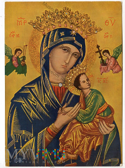 Matka Boska z Jezusem - Ikona