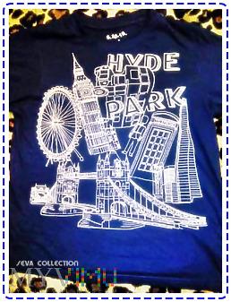 KOSZULKA HYDE PARK LONDON