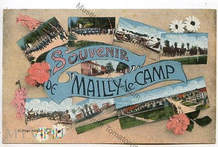Pamiątka z Mailly-le-Camp - pocz. XX w.
