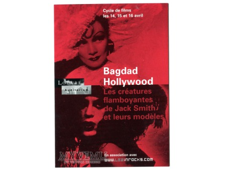 Duże zdjęcie Marlene Dietrich Musée du Louvre Bagdad Hollywood