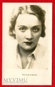 Duże zdjęcie Marlene Dietrich Polonia Kraków pocztówka 1589
