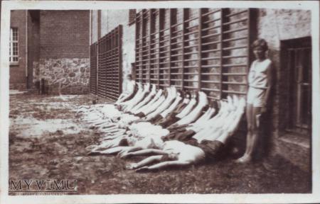 Kurs wychowania fizycznego w Wągrowcu 1930 rok