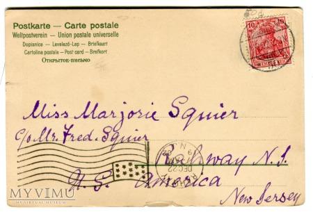 1902 Wesołych Świąt Alfred Mailick Sarny