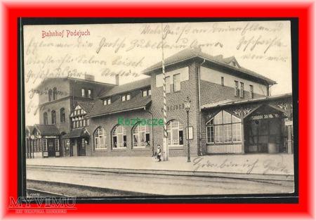 SZCZECIN Stettin Podjuchy, Dworzec kolejowy