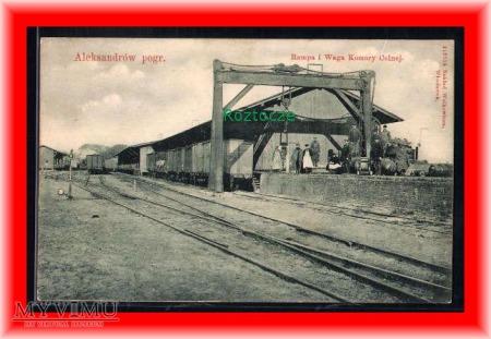 ALEKSANDRÓW KUJAWSKI Dworzec kolejowy