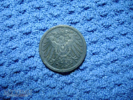 5 pfennig 1902