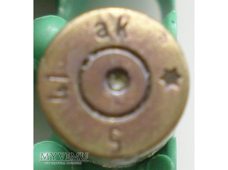 Luger 9x19mm mosiądz