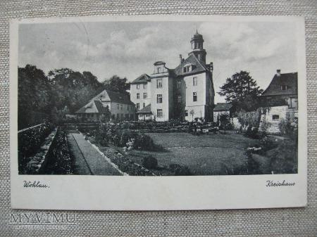Wohlau. Kreishaus - Zamek Piastowski
