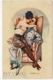 On i Ona w domowych pieleszach