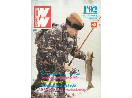 Wiadomości Wędkarskie 1-6/1992 (511-516)