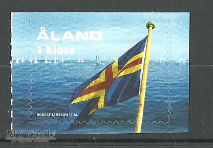 Ålands flagga