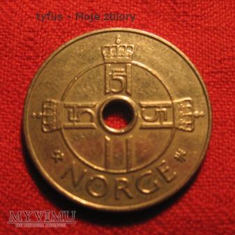 Duże zdjęcie 1 KRONE - Norwegia (1997)