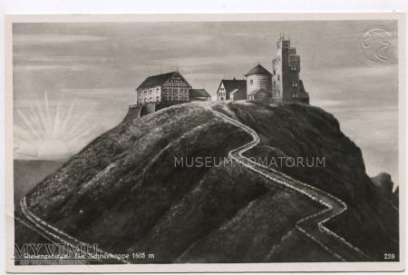 Karkonosze Śnieżka Schneekoppe 1920