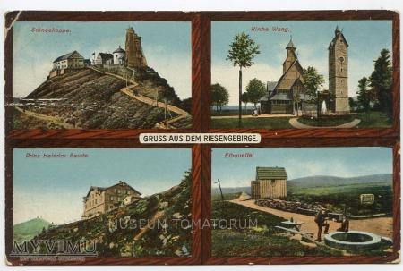 Duże zdjęcie Karkonosze - Riesengebirge - 1900