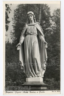 Krynica - Figura Matki Boskiej - lata 50/60
