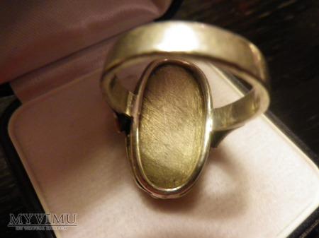 h.Topór - sygnet herbowy srebro