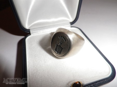 Herb Rola- sygnet srebro