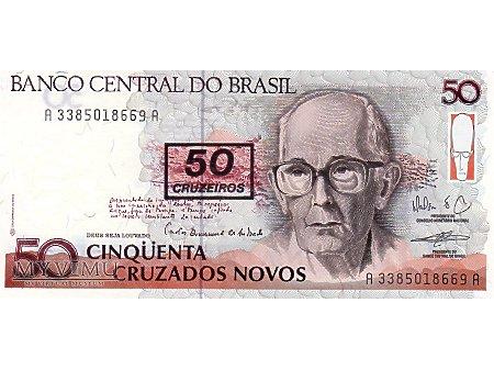 50 Cruzeiros