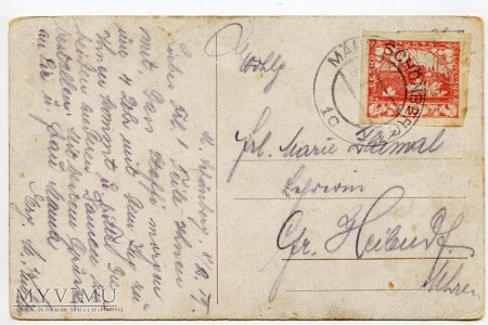 Dachshund - Jamnik - rodzinka - 1919