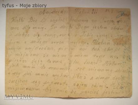 Duże zdjęcie Dziadka listy z więzienia cz.1 - 24 maj 1942 rok