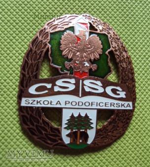 Odznaka absolwenta Szkoły Podoficerskiej CSSG