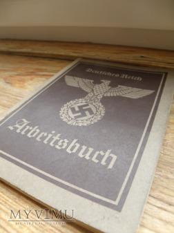 Książeczka Pracy Arbeitsbuch.