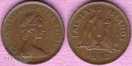 Falklandy, 1 Penny 1992