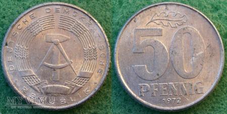 Niemcy, 50 PFENNIG 1972