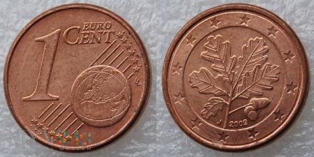 1 EURO CENT 2009 J