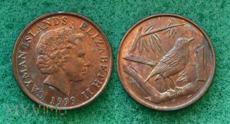 Kajmany, 1 Cent 1999