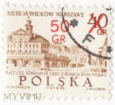 Siedem Wieków Warszawy 1965