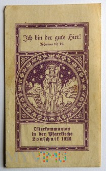 Osterkommunion Lonschnik 1926