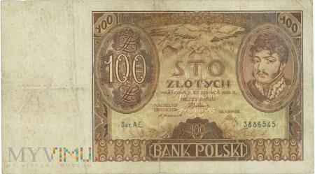 Duże zdjęcie 100 złotych-1932