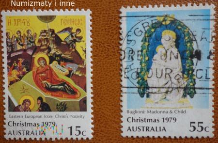 znaczki Australii. Boże Narodzenie 1979 r