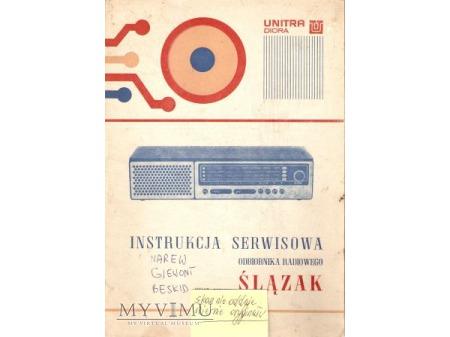 Instrukcja radia ŚLĄZAK