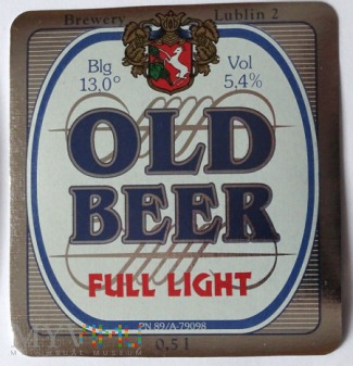 Duże zdjęcie old beer