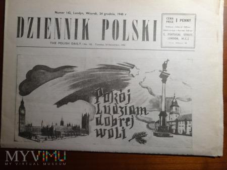 Gazeta Dziennik Polski z 24 grudnia 1940