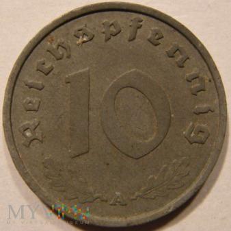 Duże zdjęcie 10 REICHSPFENNIG 1940 A - Berlin