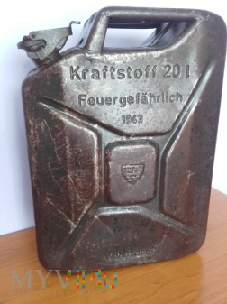 Kanister Wehrmacht 1943 rok Feldgrau