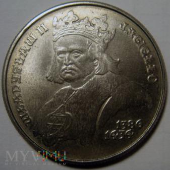 500 zł 1989 r. - Władysław II Jagiełło