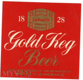 GOLD KEG