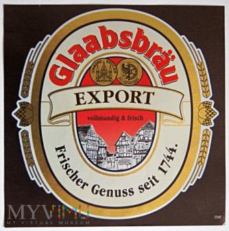 Glaabsbräu Export
