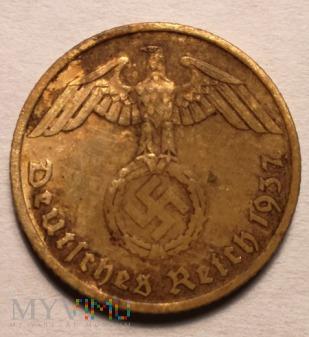 Duże zdjęcie 5 REICHSPFENNIG 1937 A - Berlin
