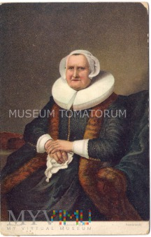 Rembrandt - Elisabeth Jacobs Bas