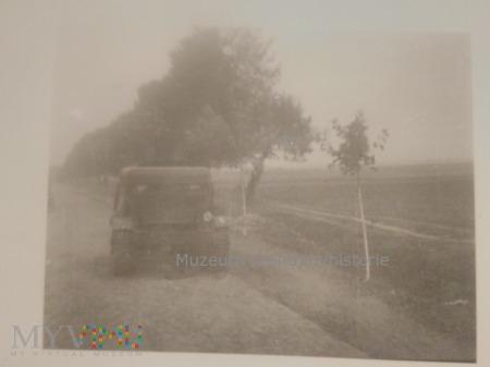 Ciągnik artyleryjski C7P w rękach Niemców