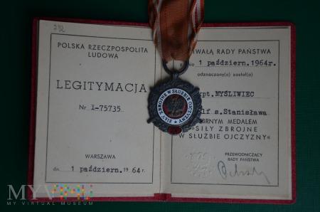 Duże zdjęcie Srebrny (XV) medal Siły zbrojne w służbie ojczyzny