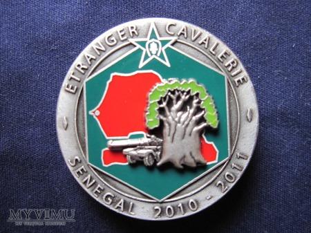 3e escadron, Senegal 2010 - 2011